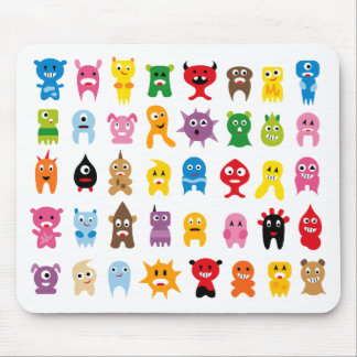 Super Monsters All Mouse Pad