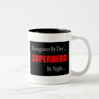 Superhero Bioengineer Two-Tone Mug