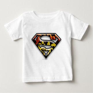 Superman S-Shield | Black Outline Graffiti Logo Tee Shirts