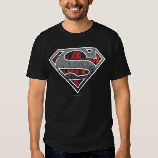 Superman S-Shield | Grey and Red City Logo Tees