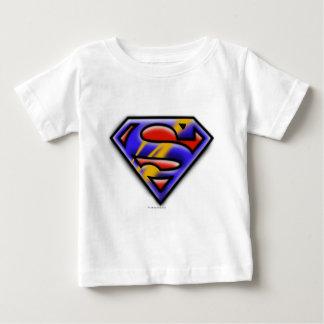 Superman S-Shield | Purple Airbrush Logo Tees