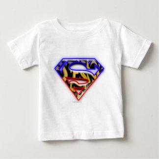 Superman S-Shield | Purple-Red Graffiti Logo Tees