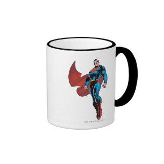 Superman Stands Tall Ringer Mug