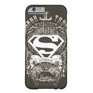 Superman Stylized | Honor, Truth and Justice Logo Barely There iPhone 6 Case