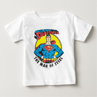 Superman The Man of Steel T Shirts