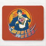 Superman World Hero Mouse Pad