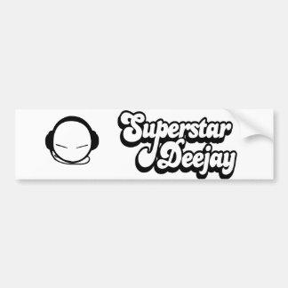 SuperStar Deejay Bumper Sticker