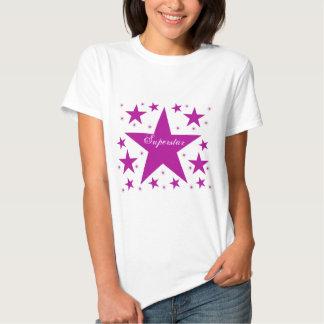 Superstar Women's Tee, Purple T Shirts