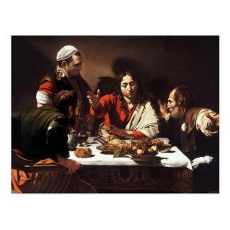 Supper At Emmaus Postcard