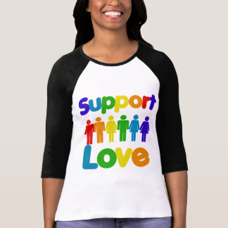 Support Love - Gay Marriage Tshirts