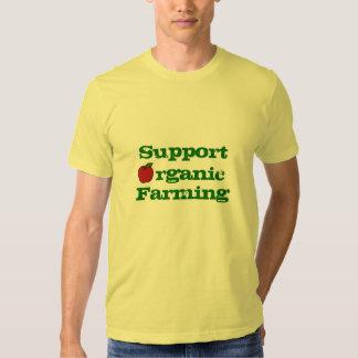 Support Organic Farming Tees