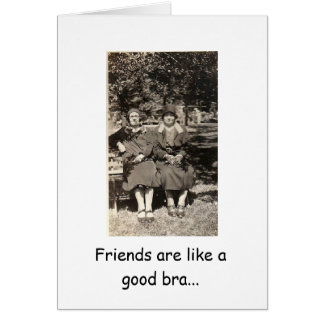 Supportive Friends Greeting Card