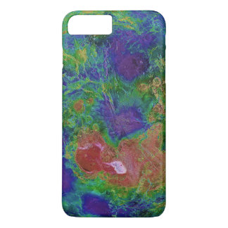 Surface Elevation Map of the Planet Venus iPhone 7 Plus Case
