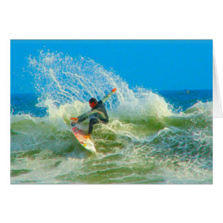 Surfed Out Note Card