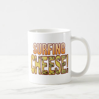 Surfing Blue Cheese Basic White Mug