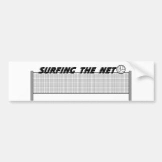 Surfing The Net Bumper Sticker