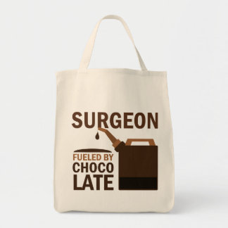 Surgeon (Funny) Gift Grocery Tote Bag