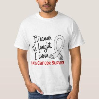 Survivor 11 Lung Cancer T Shirts