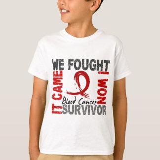 Survivor 5 Blood Cancer Tshirts