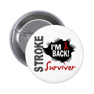 Survivor 7 Stroke 6 Cm Round Badge