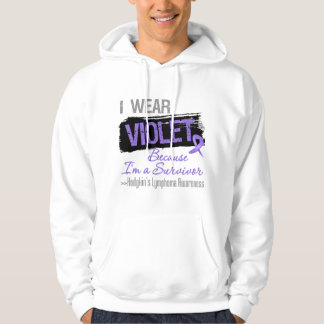Survivor - Hodgkins Lymphoma Ribbon Hooded Pullovers