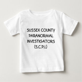 SUSSEX COUNTY PARANORMAL INVESTIGATORS (S.C.P.I.) T-SHIRTS