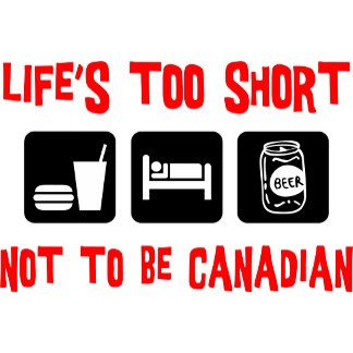 Funny Canadian T-Shirt Gift Cards