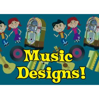 Retro Music Designs