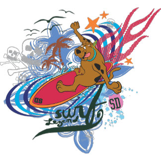 """Scooby Doo """"Surf Legend"""""""