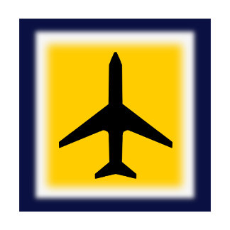 Airplane Silhouette The MUSEUM Zazzle Gifts