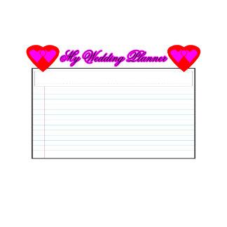 ALL Calendar My Wedding Planner2  Magenta jGibney