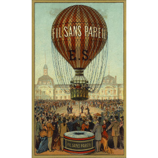 """Hot Air Balloon Poster Print"""