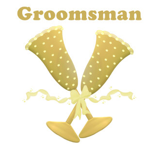 Golden Flutes Groomsman Gifts, T-shirts
