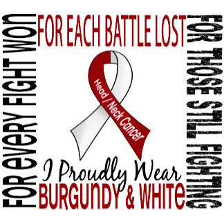 I Proudly Wear Burgundy and White 2