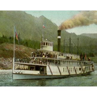 Vintage Ship Steamer Posters