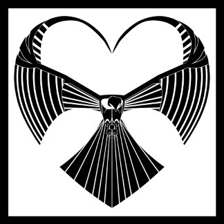 Tribal Valentine Hawk