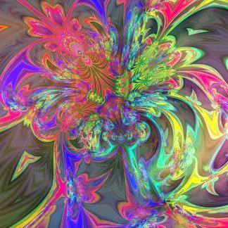 Bright Burst of Color
