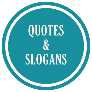 QUOTATIONS & SLOGANS items