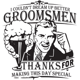 Thank You Groomsman