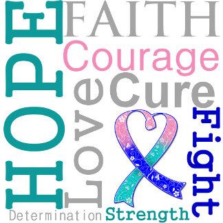 Thyroid Cancer Hope Faith Motto