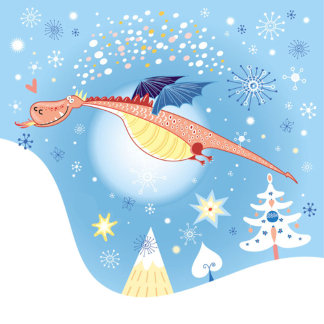 A Christmas Dragon
