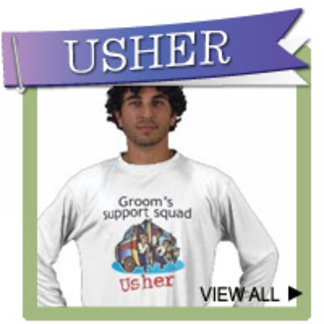 Wedding Usher Gifts and Shirts