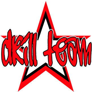 Red Funky Drill Team Star
