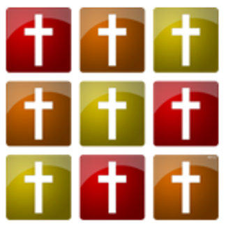 Colorful Christian Crosses