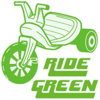 ➢ Ride Green Big Wheel