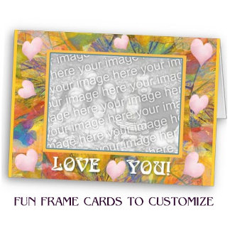 Fun Frame Cards to Customize