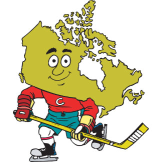 Funny Canadian Hockey T-Shirt Gift Cards