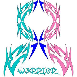 Thyroid Cancer Warrior Tribal Ribbon