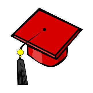 Red Graduation Cap