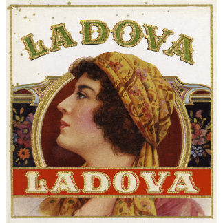 """La Dova Woman with Scarf Poster Print"""
